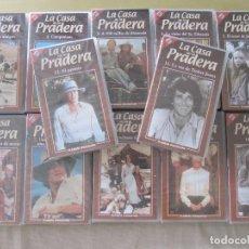Series de TV: SERIE VHS LA CASA DE LA PRADERA 12 VIDEO CASETES 10 PRECINTADAS. Lote 94296338