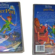 Cine: PELÍCULAS DE WALT DISNEY EN VHS: EL REY LEON; PETER PAN Y EL LIBRO DE LA SELVA.. Lote 94500918