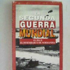 Cine: LA SEGUNDA GUERRA MUNDIAL: EL DIA D . DESEMBARCO DE NORMANDIA. Lote 95461687