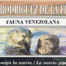 Series de TV: VESIV VHS FELIX RODRIGUEZ DE LA FUENTE Nº2 FAUNA VELEZOLANA . Lote 96090059