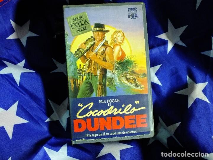 COCODRILO DUNDEE EN VHS (Series TV en VHS )