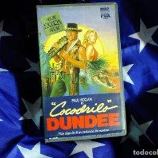 Series de TV: COCODRILO DUNDEE EN VHS. Lote 99440207
