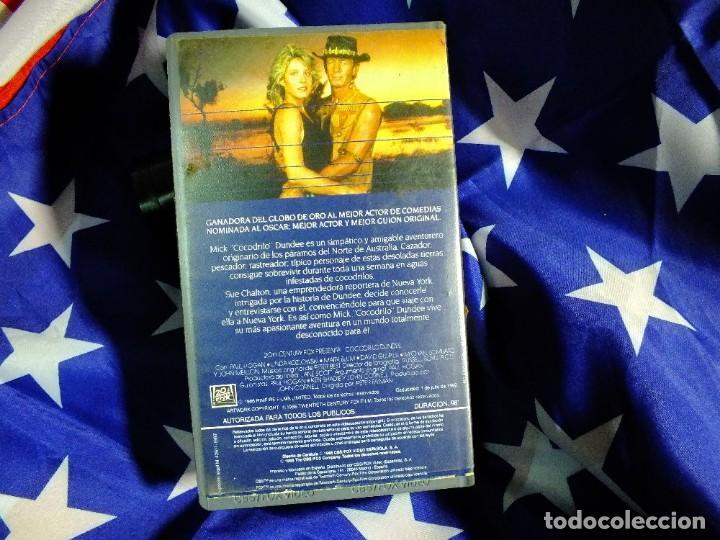 Series de TV: Cocodrilo Dundee en VHS - Foto 3 - 99440207