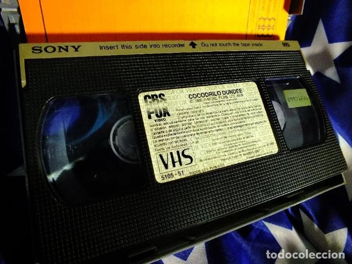 Series de TV: Cocodrilo Dundee en VHS - Foto 4 - 99440207