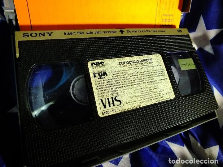 Series de TV: Cocodrilo Dundee en VHS - Foto 5 - 99440207