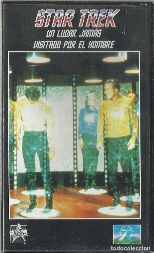 UN LUGAR JAMÁS VISITADO POR EL HOMBRE (STAR TREK: LA SERIE ORIGINAL) VHS (Series TV en VHS )