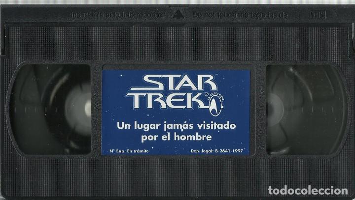 Series de TV: Un lugar jamás visitado por el hombre (Star Trek: La serie original) VHS - Foto 3 - 99911895