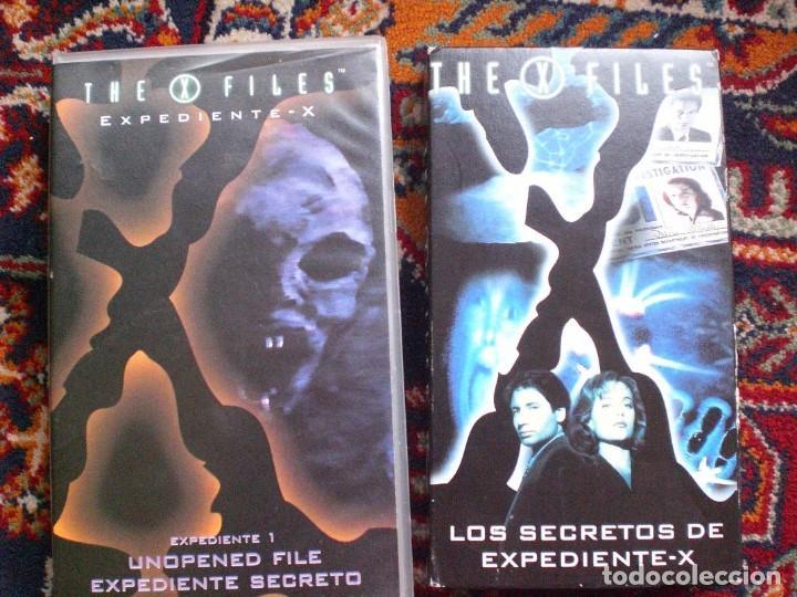 PACK EXPEDIENTE X (Series TV en VHS )