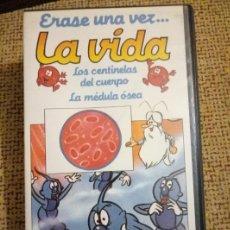 Series de TV: ÉRASE UNA VEZ... LOS CENTINELAS DEL CUERPO. LA MÉDULA ÓSEA . Nº2. . VHS.. Lote 102385394