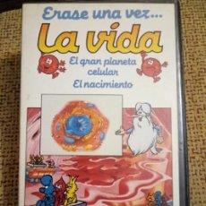 Series de TV: ÉRASE UNA VEZ... LA VIDA. Nº1. EL GRAN PLANETA CELULAR. EL NACIMIENTO. VHS.. Lote 102386040