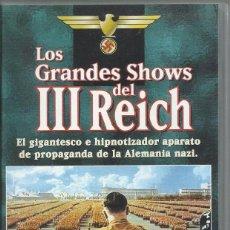 Series de TV: LOS GRANDES SHOWS DEL TERCER REICH (DOCUMENTAL). Lote 103316739