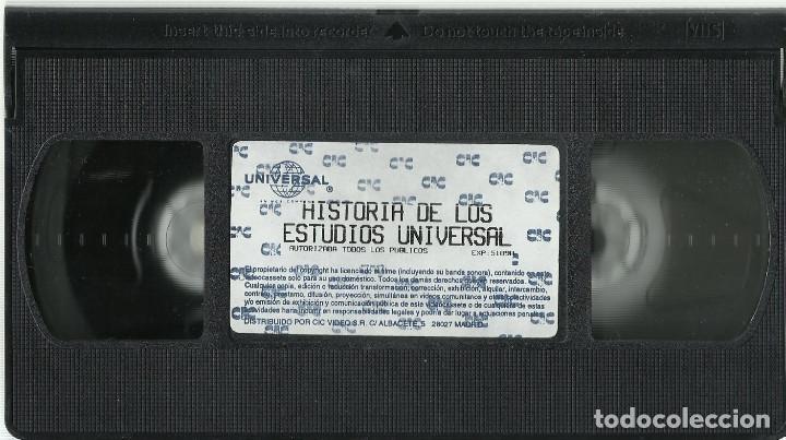 Series de TV: HISTORIA DE LOS ESTUDIOS UNIVERSAL VHS - Foto 3 - 103910323