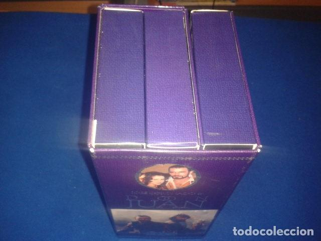 Series de TV: DON JUAN POR JOSE CORONADO 1998 RTVE DURACION TOTAL APROX: 180 MIN EN 3 PELICULAS VHS - Foto 4 - 106618195
