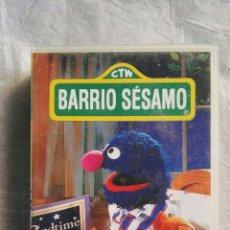 Series de TV: BARRIO SÉSAMO COCO TVE RBA VHS. Lote 110221648