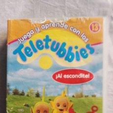Series de TV: TELETUBBIES ¡AL ESCONDITE! VHS. Lote 110224699