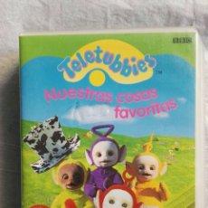 Series de TV: TELETUBBIES NUESTRAS COSAS FAVORITAS VHS. Lote 110227327