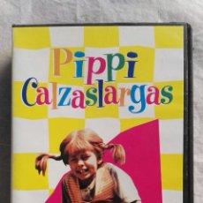Series de TV: PIPPI CALZASLARGAS VHS. Lote 110231380