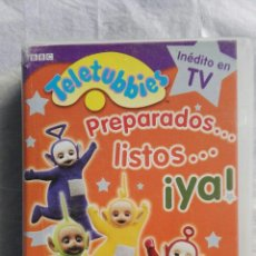 Series de TV: TELETUBBIES PREPARADOS,LISTOS,YA VHS. Lote 110231686