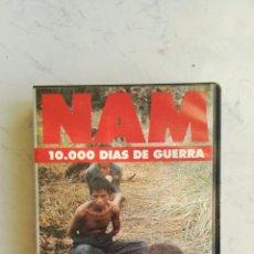 Series de TV: NAM 10000 DÍAS DE GUERRA VHS. Lote 110271974