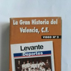 Series de TV: LA GRAN HISTORIA DEL VALENCIA C.F. VIDEO N°2 VHS. Lote 110499100
