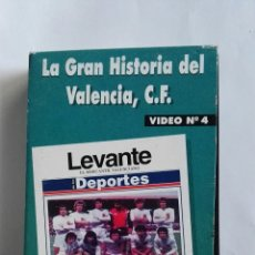 Series de TV: LA GRAN HISTORIA DEL VALENCIA C.F. VIDEO N°4 VHS. Lote 110499115