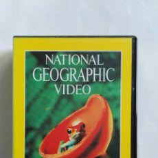 Series de TV: NATIONAL GEOGRAPHIC VIDEO LAS SELVAS TROPICALES COSTA RICA VHS. Lote 110597856