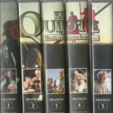 Series de TV: EL QUIJOTE DE MIGUEL DE CERVANTES (MINISERIE DE TV) 1991. Lote 111598915