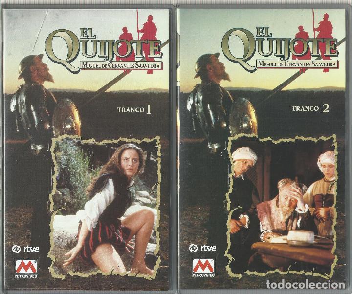 Series de TV: El Quijote de Miguel de Cervantes (Miniserie de TV) 1991 VHS - Foto 2 - 111598915