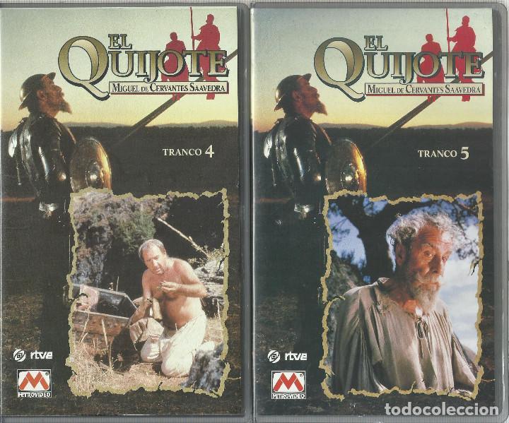 Series de TV: El Quijote de Miguel de Cervantes (Miniserie de TV) 1991 VHS - Foto 3 - 111598915