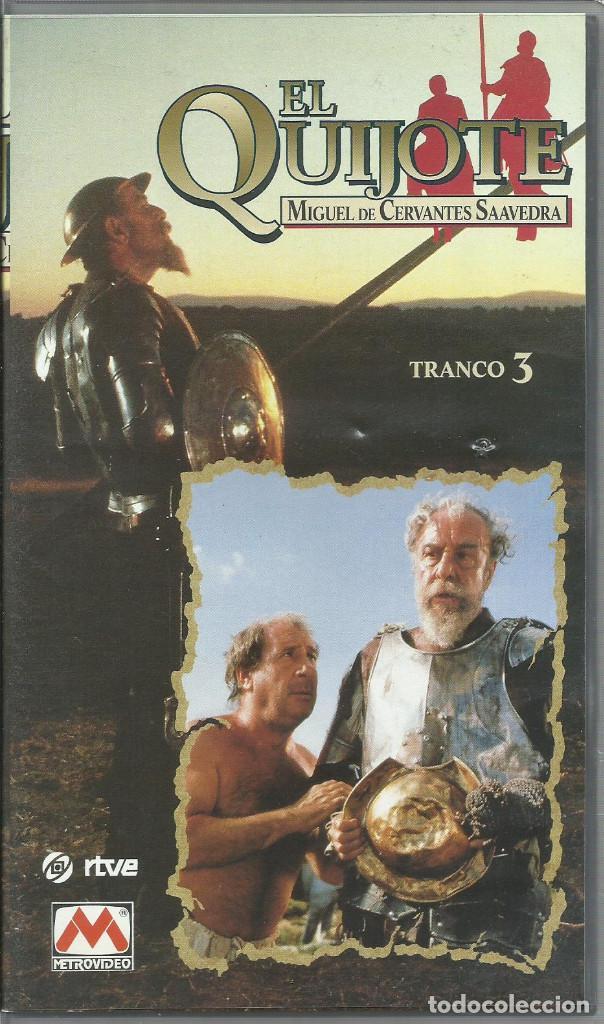 Series de TV: El Quijote de Miguel de Cervantes (Miniserie de TV) 1991 VHS - Foto 4 - 111598915