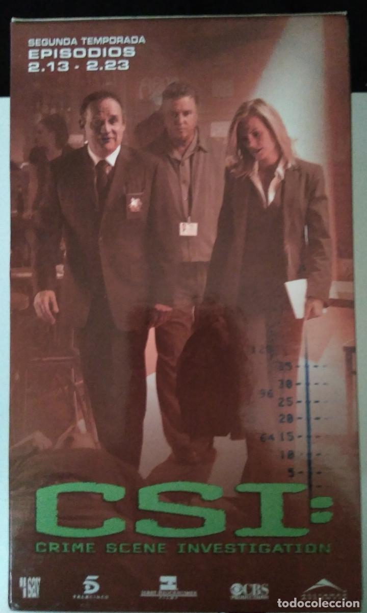 CSI - SEGUNDA TEMPORADA - EPISODIOS 13 A 23 - 3 CINTAS VHS (Series TV en VHS )
