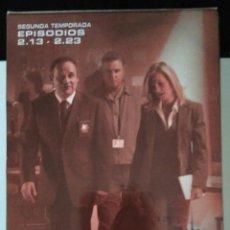 Series de TV: CSI - SEGUNDA TEMPORADA - EPISODIOS 13 A 23 - 3 CINTAS VHS. Lote 111670335