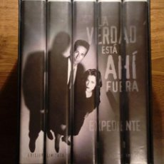 Series de TV: EXPEDIENTE X. EDICION LIMITADA COLECCION DE LA PRIMERA TEMPORADA. VHS. THE X FILES. RARA EDICIÓN.. Lote 112572179