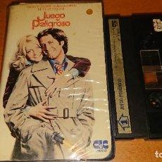 Cine: JUEGO PELIGROSO V2000 NO VHS . Lote 113036967
