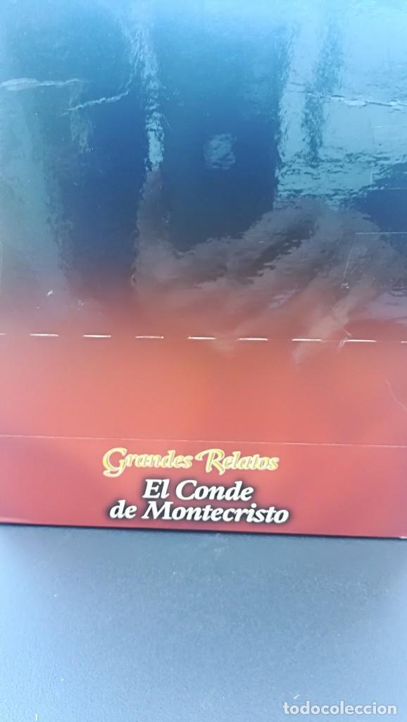 Series de TV: PACK 6 VHS EL CONDE DE MONTECRISTO SERIE COMPLETA GRANDES RELATOS - Foto 5 - 114180199