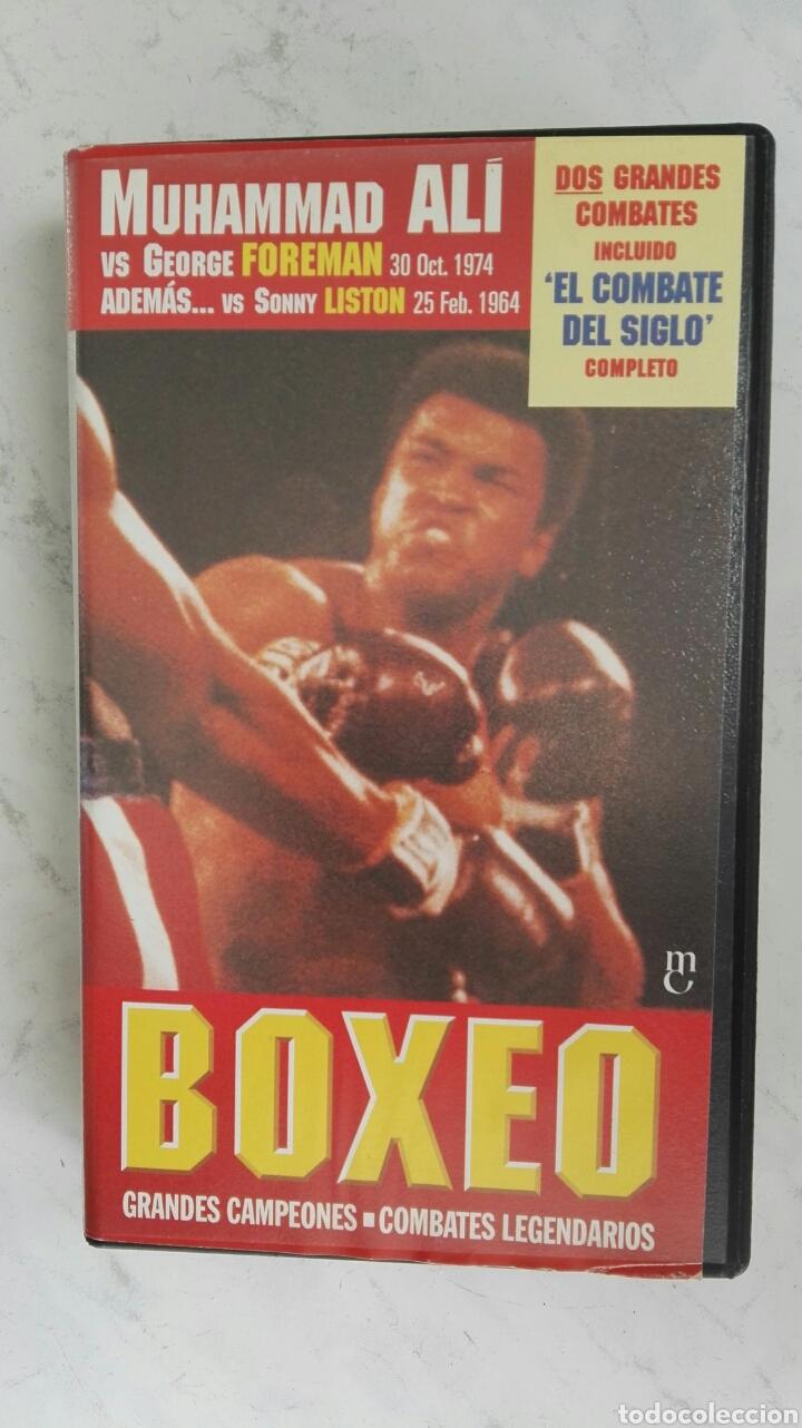 BOXEO MUHAMMAD ALÍ EL COMBATE DEL SIGLO VHS (Series TV en VHS )