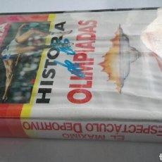 Series de TV: HISTORIA DE LAS OLIMPIADAS N°5 EL MÁXIMO ESPECTACULO DEPORTIVO VHS. Lote 114309158