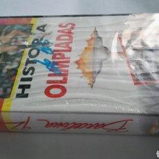 Series de TV: HISTORIA DE LAS OLIMPIADAS BARCELONA 92 VHS. Lote 114309378