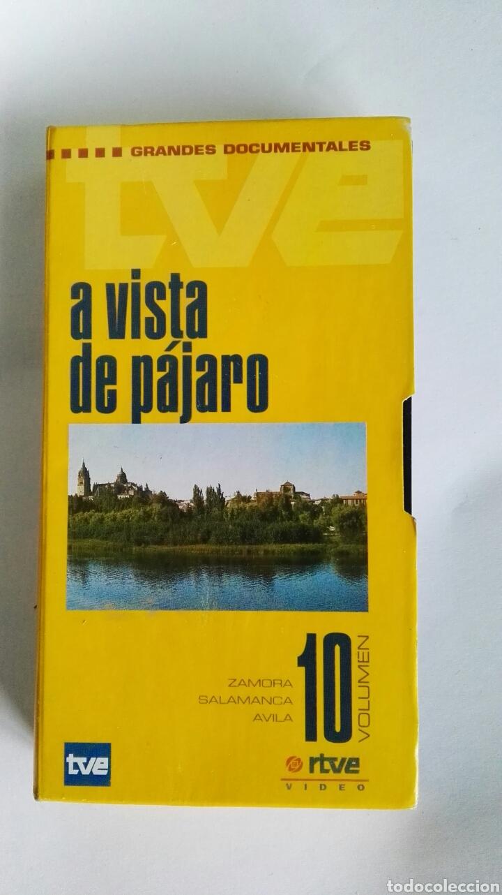 A VISTA DE PÁJARO N° 10 SALAMANCA ZAMORA ÁVILA RTVE VHS (Series TV en VHS )