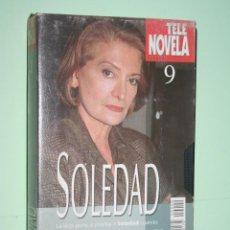 Series de TV: SOLEDAD *** COLECCIÓN SERIE TV Nº 9 *** TELENOVELA *** AMÉRICA PRODUCCIONES *** CARÁTULA DE CARTÓN. Lote 114565815