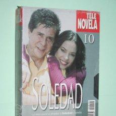 Series de TV: SOLEDAD *** COLECCIÓN SERIE TV Nº 10 *** TELENOVELA *** AMÉRICA PRODUCCIONES *** CARÁTULA DE CARTÓN. Lote 114566195