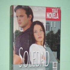 Series de TV: SOLEDAD *** COLECCIÓN SERIE TV Nº 11 *** TELENOVELA *** AMÉRICA PRODUCCIONES *** CARÁTULA DE CARTÓN. Lote 114566511