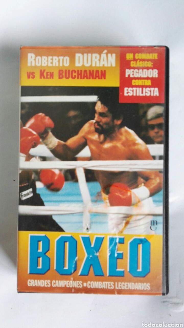 BOXEO GRANDES CAMPEONES ROBERTO DURÁN VS KEN BUCHANAN N° 3 VHS (Series TV en VHS )