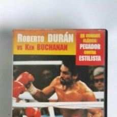 Series de TV: BOXEO GRANDES CAMPEONES ROBERTO DURÁN VS KEN BUCHANAN N° 3 VHS. Lote 115560792