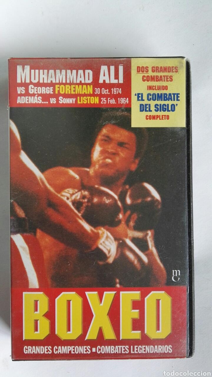 BOXEO GRANDES CAMPEONES MUHAMMAD ALI N° 1 VHS (Series TV en VHS )