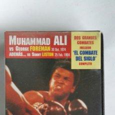 Series de TV: BOXEO GRANDES CAMPEONES MUHAMMAD ALI N° 1 VHS. Lote 115562696
