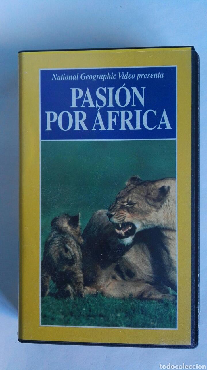 PASIÓN POR ÁFRICA NATIONAL GEOGRAPHIC VHS (Series TV en VHS )