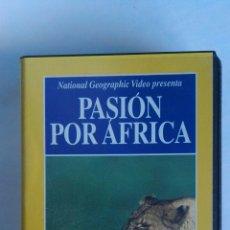 Series de TV: PASIÓN POR ÁFRICA NATIONAL GEOGRAPHIC VHS. Lote 115743911