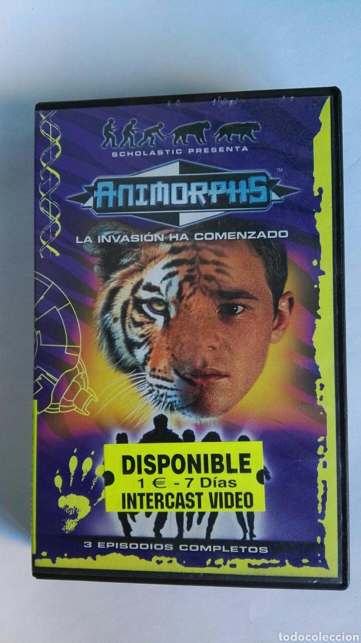 ANIMORPHS LA INVASIÓN HA COMENZADO VHS (Series TV en VHS )