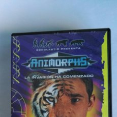 Series de TV: ANIMORPHS LA INVASIÓN HA COMENZADO VHS. Lote 115901895
